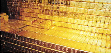 China's 2014 spot gold trade volume soars near 60% on year t