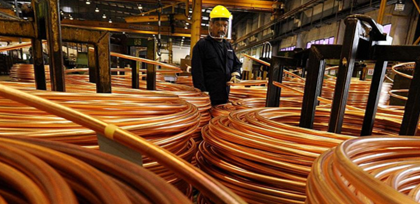 China's Jan-Apr non-ferrous metals output steady at 16.36 mi